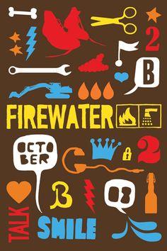 firewater 0809 2 poster by nazario graziano
