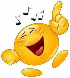 Buy Dancing Emoticon by yayayoyo on GraphicRiver. Emoticon dancing to music Funny Emoji Faces, Emoticon Faces, Funny Emoticons, Smiley Faces, Smiley Emoji, Emoji Images, Emoji Pictures, Excited Emoticon, Funny Pics