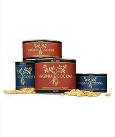 Virginia Cocktail Peanuts With Sea Salt  Hand roasted and lightly dusted with sea salt, these super-crunchy nuts are an addictive pre-dinner snack.    To buy: $25 for one 40-ounce tin, virginiacocktailpeanuts.com.