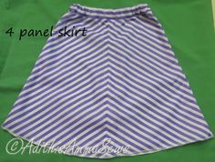 Adithis Amma Sews - Cute Confessions of a Sew Addict: Panel Skirt Tutorial - Sew Skirts September