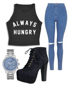 """""""Untitled #1097"""" by pinkunicorn007 ❤ liked on Polyvore featuring GUESS, Topshop and Speed Limit 98"""