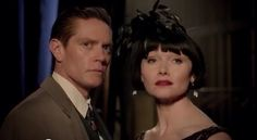 Jack and Phryne from the 3rd season of Miss Fisher.  Miss Fisher's Murder Mysteries.