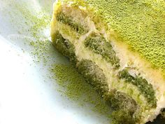 matcha tiramisu!! two of my favorite things... :)