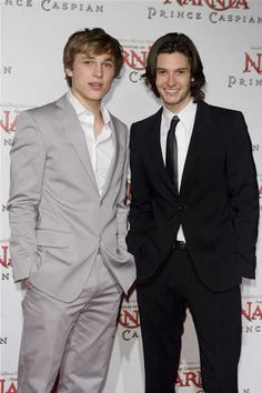 Two of my First Celebrity Crushes...Peter and Caspian