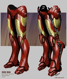 Amazing IRON MAN Concept Art by Phil Saunders « Film Sketchr