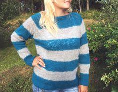 Merete Kristiansen står bak bloggen Nøstesjel, og i vår designet hun den populære genseren med horisontale striper, inspirert av stripegenseren fra Acne. Genseren er like aktuell nå til kjøl…