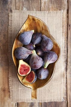 Figs one of my most favorite fruits! My grandma always had a fig tree and prepared them various ways