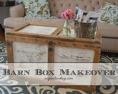 barn box makeover