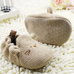 High Quality Infant Toddler Baby Knit Crib Shoes Newborn Boy Girl Cartoon Shoes - Kid Shop Global - Kids & Baby Shop Online - baby & kids clothing, toys for baby & kid Baby Mouse, Cute Mouse, Baby Girl Crochet, Crochet Baby Shoes, Cartoon Shoes, Boy And Girl Cartoon, Baby Shop Online, Baby Girl Shoes, Boy Shoes