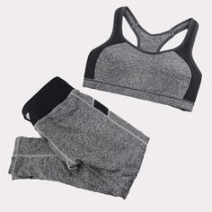 Cheap sport yoga set, Buy Quality yoga set directly from China women sport yoga set Suppliers: B.BANG Women Sport Yoga Sets for Running Gym Sportswear Sports Top Gym Push Up Bras Elastic Capris Fitness Tights Suit for Woman Fast Fashion, Fashion 2017, Fashion Trends, Shirt Refashion, Tops For Leggings, Aliexpress, All About Fashion, Workout Tops, Sports Women