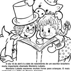 Você consegue imaginar a educação de crianças, adolescentes e adultos sem a utilização de livros? O dia do livro, comemorado no Dia 18 de Abril, é uma grande homenagem aos livros e também aos seus escritores. Durante anos e anos, muitos adultos ainda se lembram dos livros de suas infâncias, seja pela identificação com um … Continuar lendo Dia do Livro para Colorir