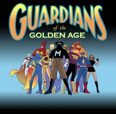 Comic Book Heroes of the Golden Age.