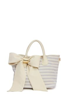 Deux Lux Heidi Girl Bow Tote Bag