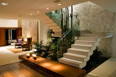 16 Wonderful Interior Stairs You Will Wish To Have In Your House - Home Interior Designs Home Interior Design, House Styles, House Design, Interior, Home Stairs Design, Interior Garden, House Interior, Interior Architecture, Home Deco