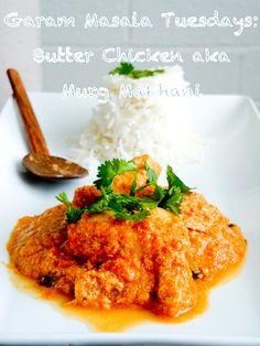 Garam Masala Tuesdays: Butter Chicken - The Novice Housewife
