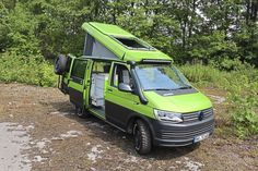 Bus Camper, Vw Bus, Rv Campers, Volkswagen, Roller Team, Minivan Camping, Ambulance, Vw Minibus, Vw Modelle