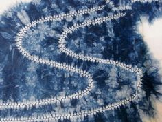 OF KAJI LEAVES AND THE MILKY WAY  七夕文様:梶木の葉と天の川  ARIMATSU, LATE 19C/EARLY 20C