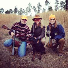 Quail hunting at the Girl Hunter Weekend via GeorgiaPellegrini.com