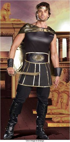 Julius Caesar Costume for Men for $48.00 (available up to size XXL)