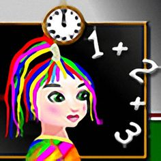 Rainbow Girl at Math Class - http://www.funtime247.com/puzzles/rainbow-girl-at-math-class/ - Rainbow Girl is at Math Class and she's got a problem with the numbers.rnCan You help her? Are you good enough at Math?rnLet's see how good you are.rnBut beware, the time is running and the lifes are limited.rnrnSimple enjoyable gameplay, just tap!rnNever boring, unlimited...