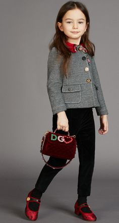 Must Have of the Day: The bell rings and it's time to go back to school with the new Dolce & Gabbana looks