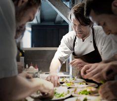 René Redzepi, 32 ans, meilleur chef du monde, scandinave !  Du restaurant NOMA a Copenhague  www.noma.dk