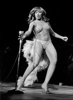 Tina Turner ..a heavenly body then, and a heavenly body now. Jee-sus!! --RC