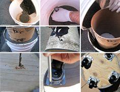 4 Projetos DIY para a casa feitos com concreto |