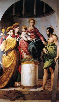 The Bardi Altarpiece by Parmigianino.