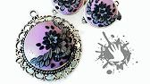 Interview about polymer clay jewelry with embroidery / applique technique - YouTube