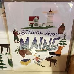 Loving these made in Maine products! You don't have to travel far to shop local! Open daily.