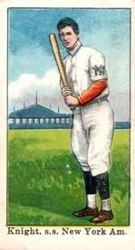 1909 Croft's Candy E92 #29 John Knight Front