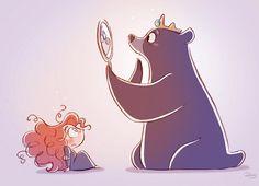I don't speak bear-Brave