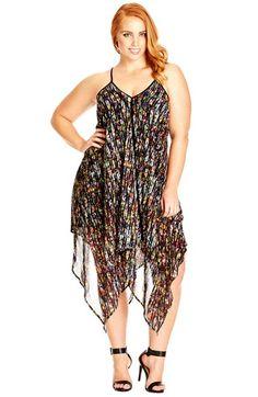 City Chic Mono Goddess Maxi Dress - Women\'s Plus Size Fashion City ...