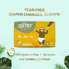 Allter (@letsallter) • Instagram photos and videos Bamboo Diapers, Newborn Diapers, Free Diapers, Free Base, Disposable Diapers, No Worries, Good Things, Let It Be, Baddies