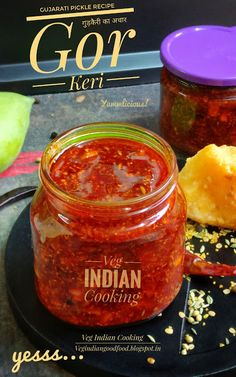 How to make Sweet Mango Pickle Recipe (Aam Ki Khatti Meethi Chutney ) Mango Recipes, Spicy Recipes, Indian Food Recipes, Amla Recipes, Capsicum Recipes, Chutney Recipes, Green Mango Chutney, Tamarind Chutney, Bhindi Masala Recipe