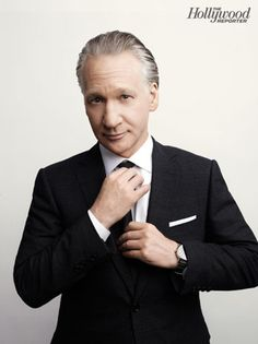Bill Maher - Gotta love this guy! Not too keen on his negativity towards religion but he calls it like it is :)
