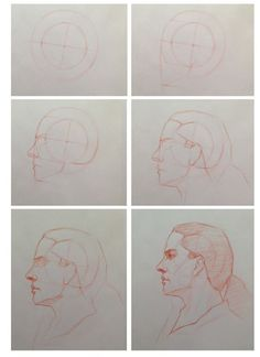 Head in profile step by step by Cuong Nguyen https://www.facebook.com/icuong?fref=photo