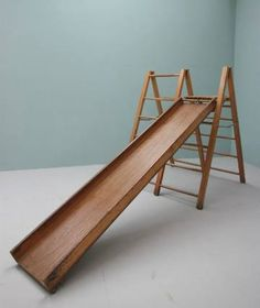 1950`s Childs Indoor Climbing Frame & Slide THIS is what I want!!