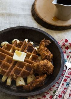 Classic Buttermilk Chicken 'n' Waffles