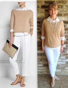casual outfits ideas for women over 50 | Fashion Women Over 50