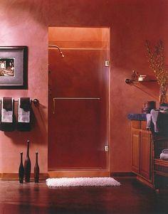 Arc glass arcglassservices Framless shower door