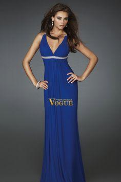 Shop Sheath Column V neck Floor length Chiffon P15HQZJD & gowns inexpensive, formal & vogue party dresses boutique online.