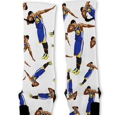 Steph Curry Dab Custom Nike Elite Socks – Fresh Elites