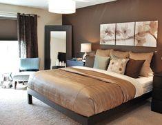 salones con paredes en color marron chocolate - Buscar con Google