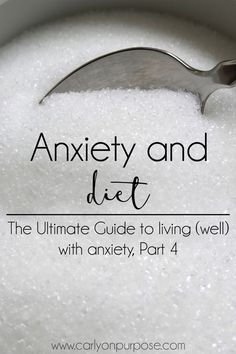 Anxiety and Diet- The Ultimate Guide to living (well) with anxiety, Part 4 - this is My Intentional Life Are your eating habits contributing to your anxiety? I experienced huge relief from panic attacks by changing my diet. Anxiety Tips, Stress And Anxiety, Health Anxiety, Anxiety Relief Quotes, Mental Health, Messages, Healthy Dieting, Fibromyalgia, Health Tips