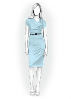 Lekala Dress - Sewing Pattern #4004