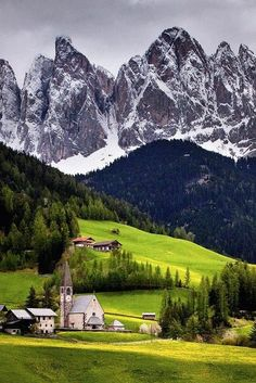 Northern Italy - I want to go there!