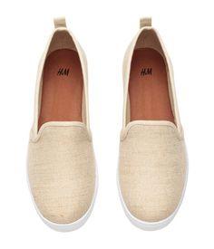 Slip-on Shoes | Light beige | Ladies | H&M US