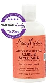 This stuff is amazing for my thick, curly, coarse Irish/Italian hair. Well-defined, not-crunchy curls that stay touchably soft all day.  My new fave!